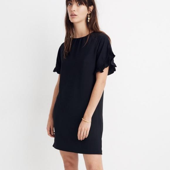 Madewell Dresses & Skirts - Madewell Memento Ruffle-Sleeve Dress